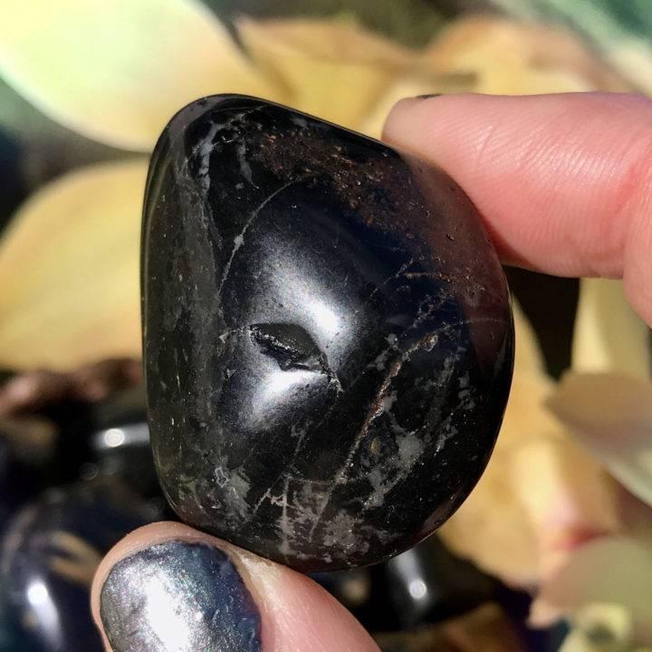 Tumbled Black Onyx