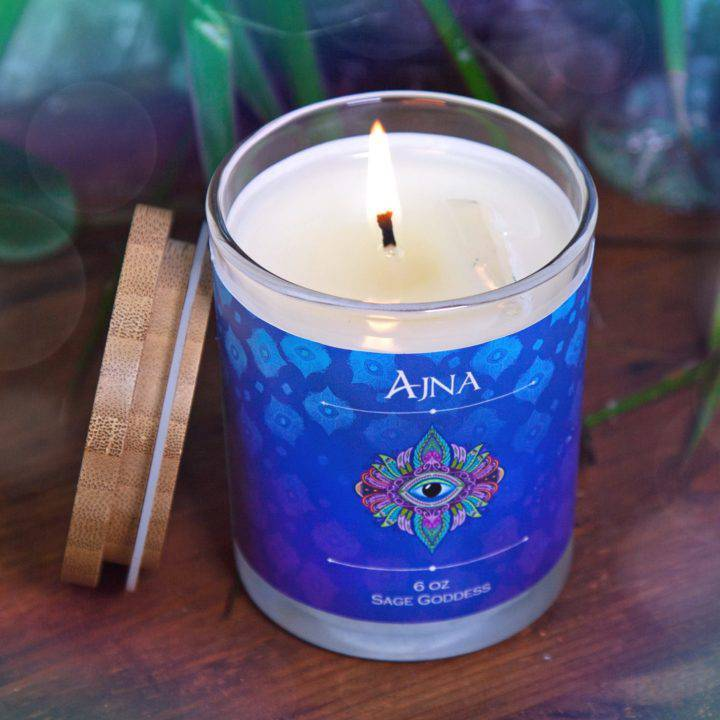 Ajna Third Eye Intention Candles