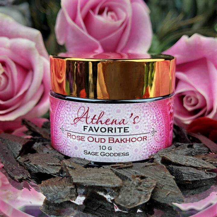 Athena's Favorite Rose Oud Bakhoor