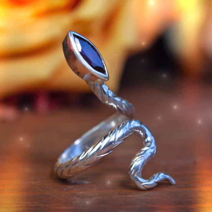 Athenas Favorite Snake Rings