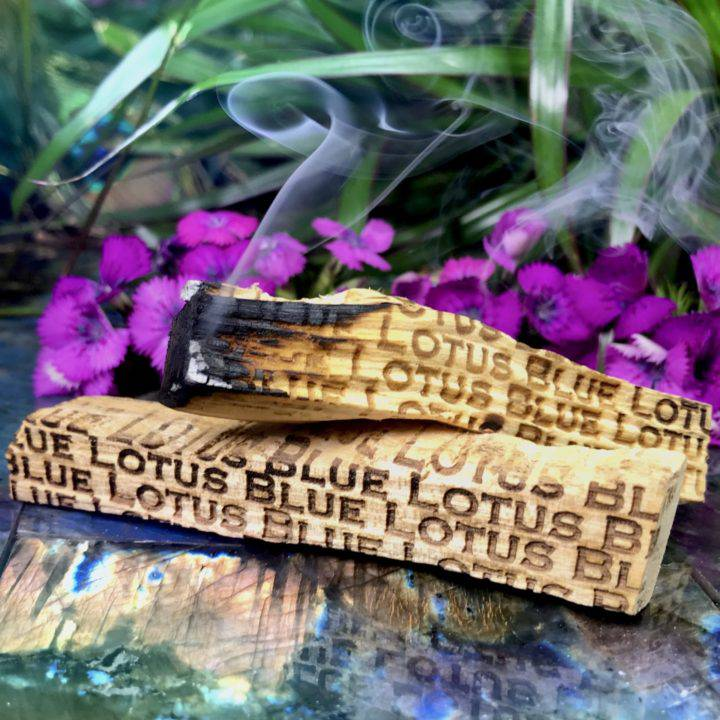Blue Lotus Infused Palo Santo