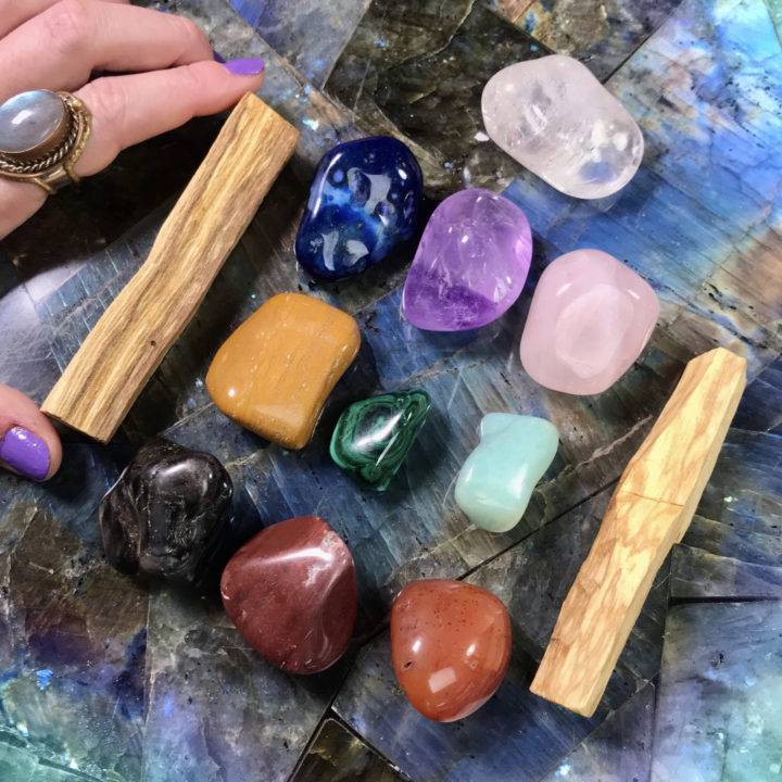 Chakra Alignment and Embodiment 10 Gemstone Set