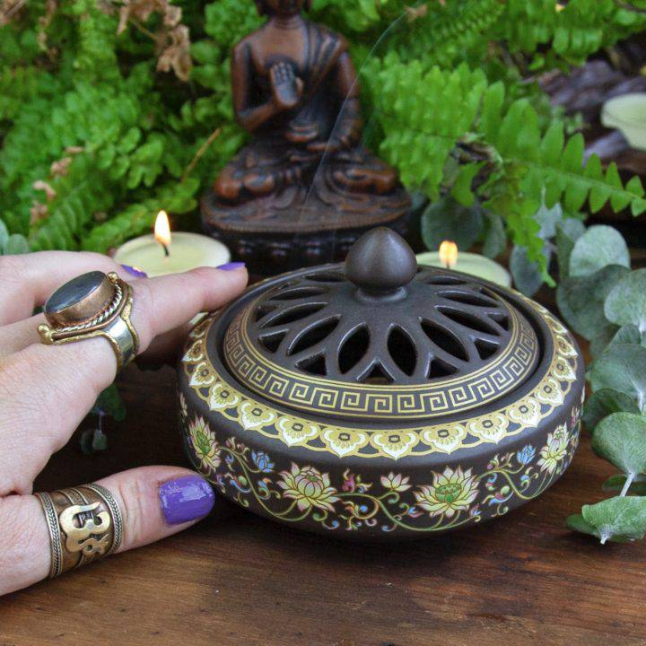 Coil Incense Burners