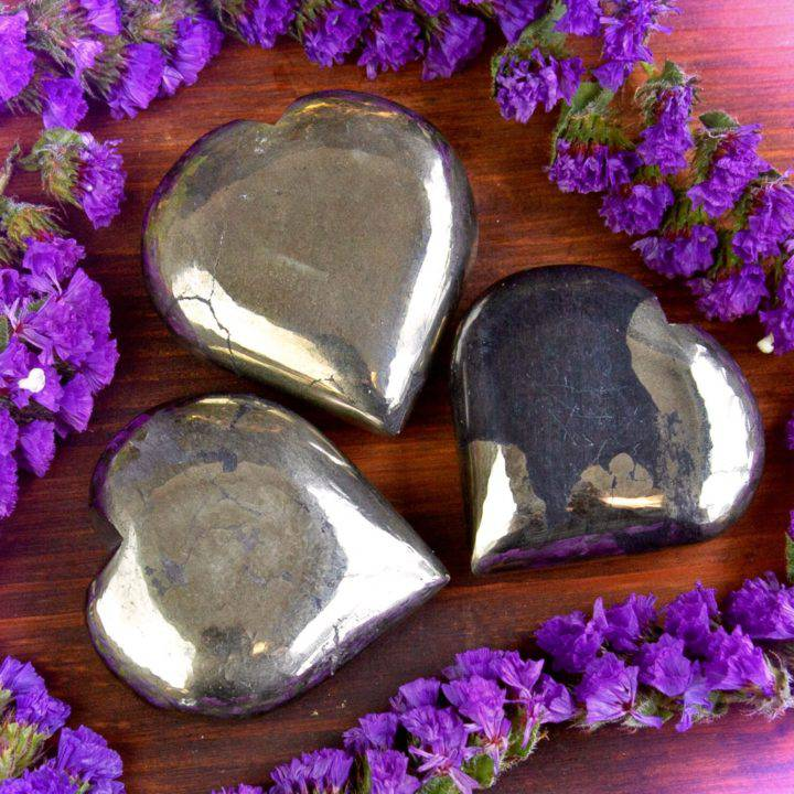 Healer's Gold Hearts