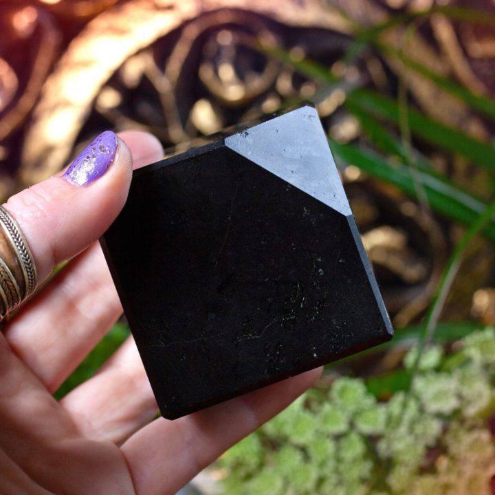 Black Tourmaline Divine Protection Cubes