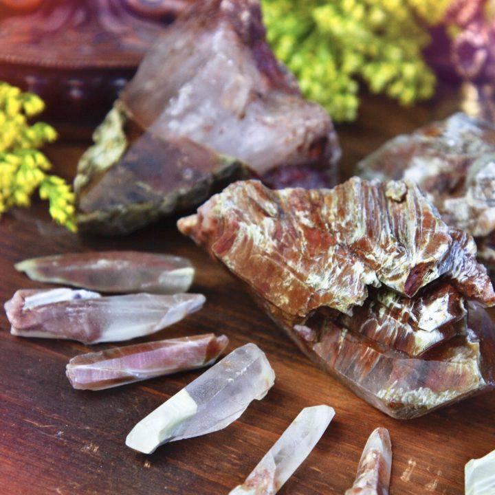 Natural Amphibole Quartz