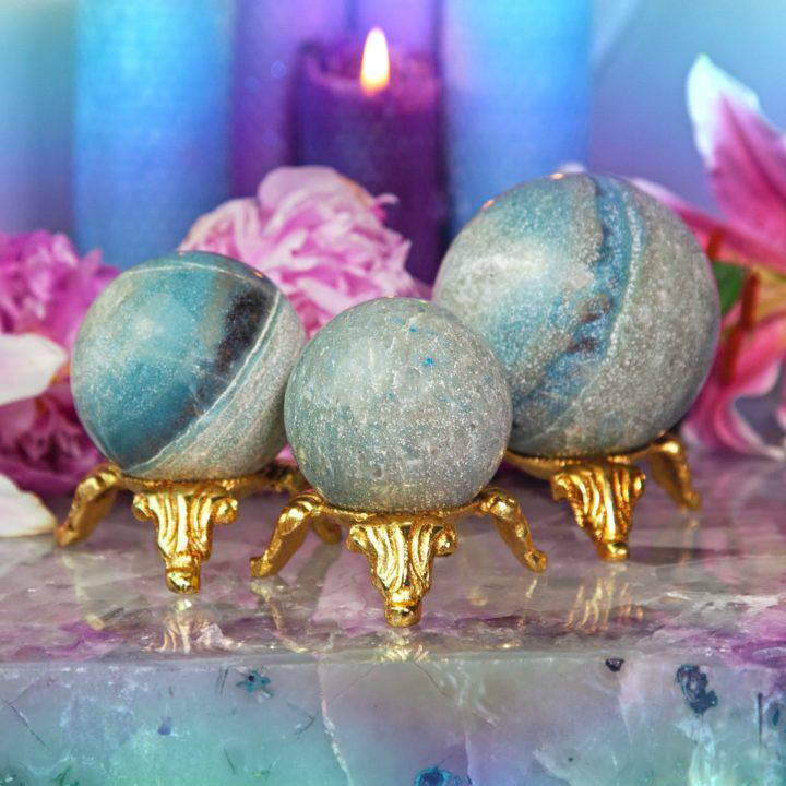 Trolleite Ascension Spheres with Sphere Stand