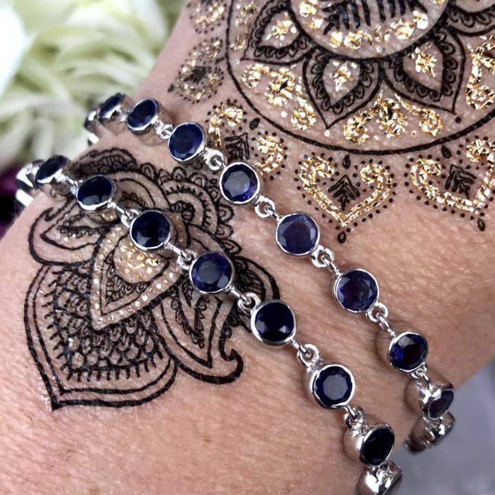 Iolite Bracelets