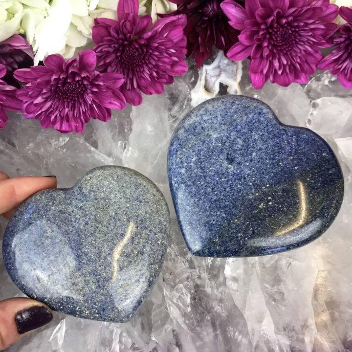 Lazurite Hearts