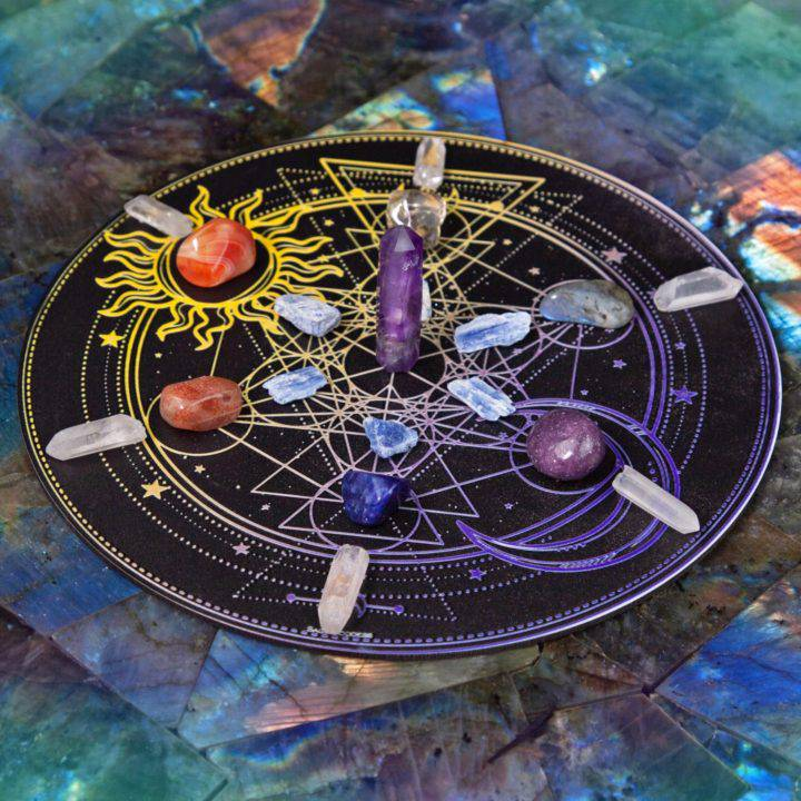 Night and Day Crystal Grid Set