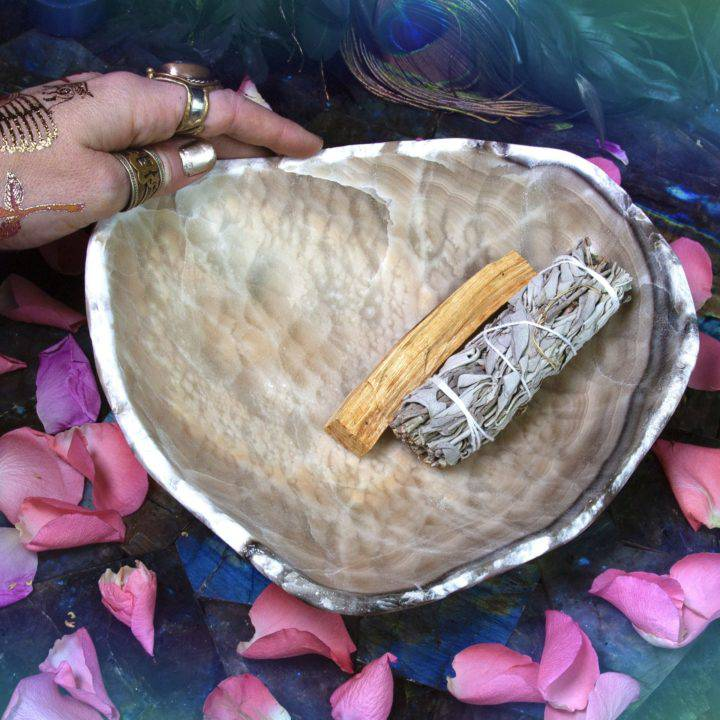 Onyx Smudging Bowls
