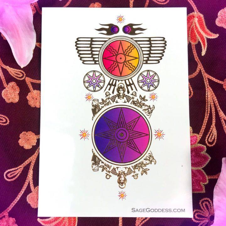 Soul Shift Ishtar Flash Tattoos