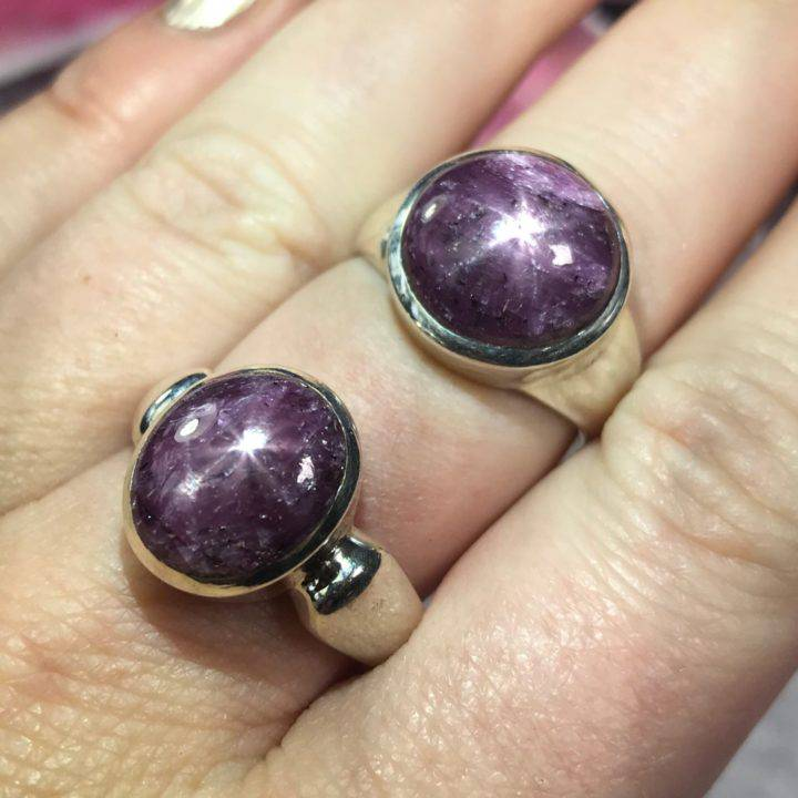 Star Power Ruby Ring Small