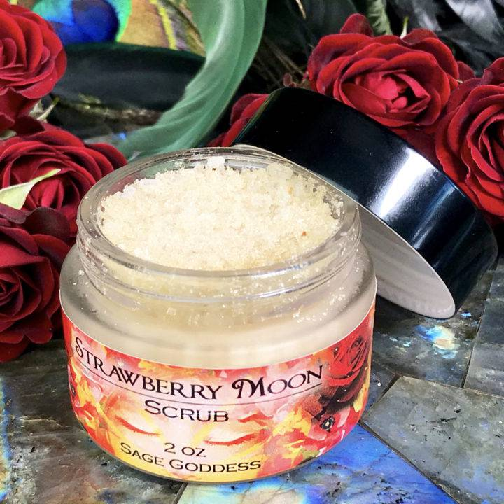 Strawberry Moon Sugar Scrub