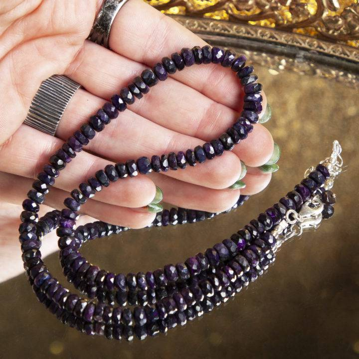 Sugilite Beaded Necklaces