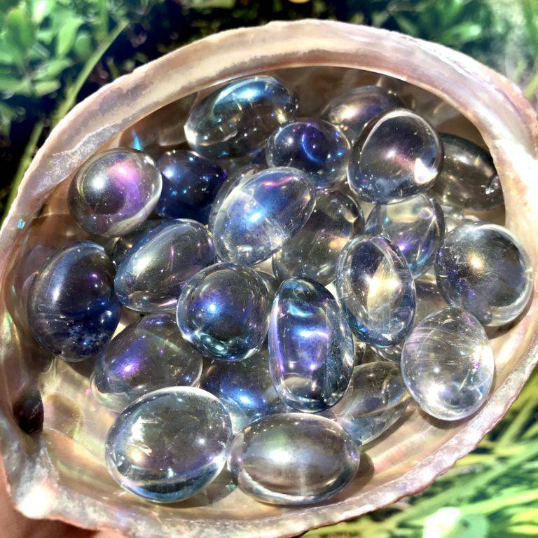 Tumbled Opal Aura Quartz