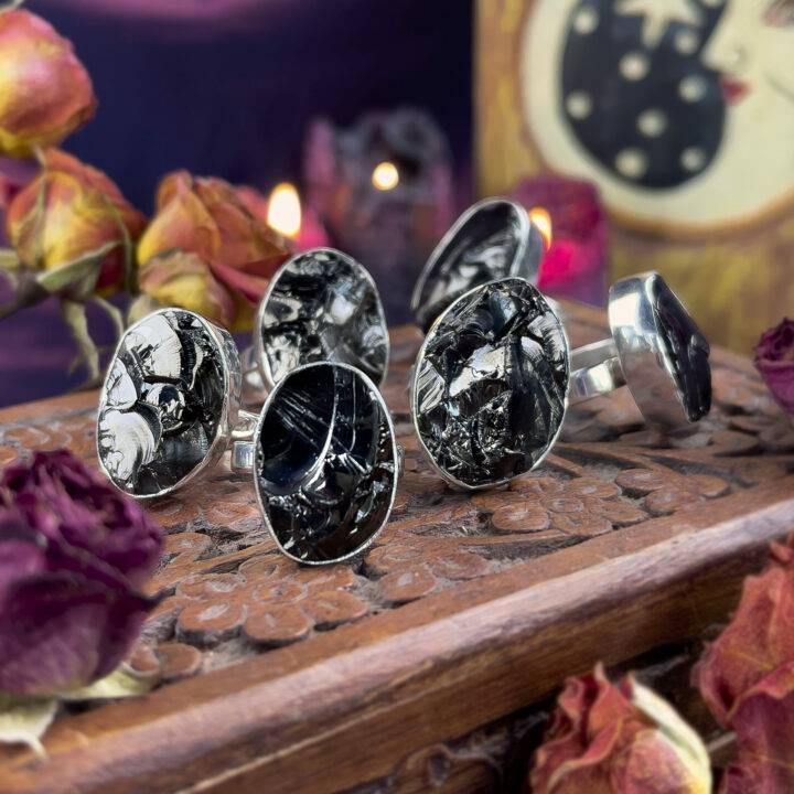 Ultra Purification Elite Shungite Ring
