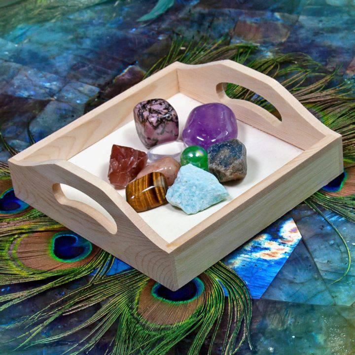 SG Anniversary Chakra Healing Gemstone Tray