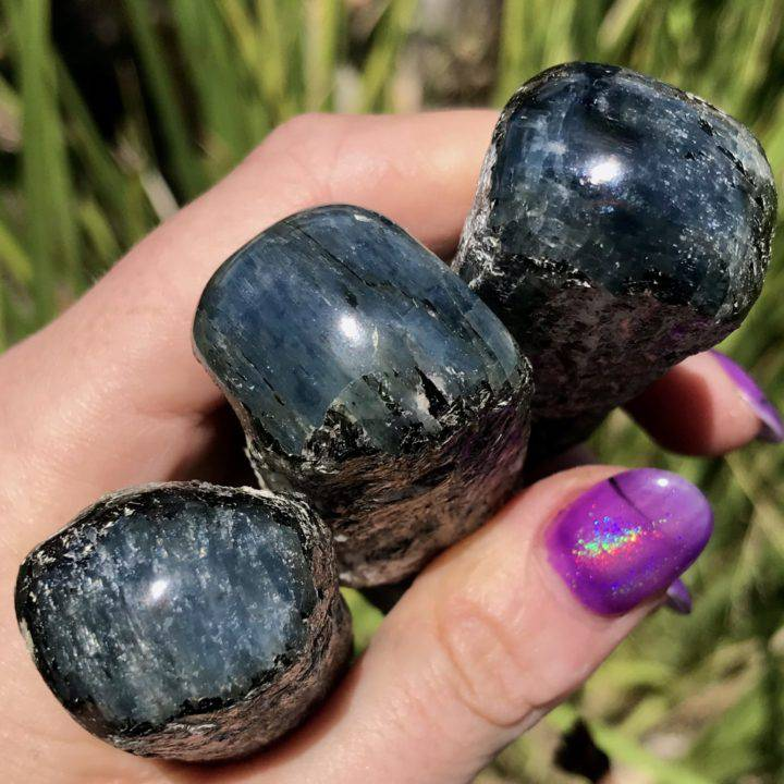 Balance and Wisdom Star Sapphire Kyanite Wands