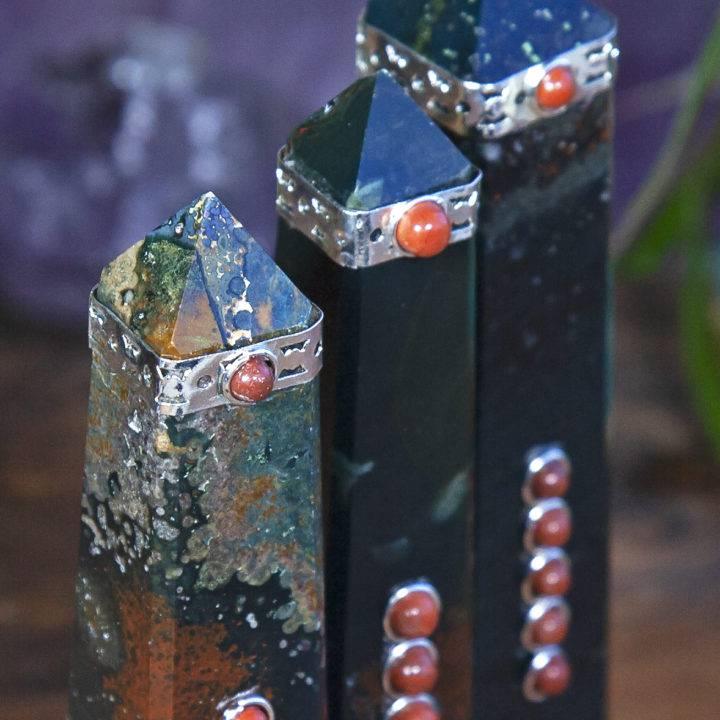 Cycle of Healing Bloodstone Obelisks
