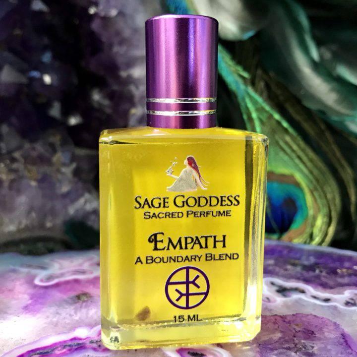 Empath Protection Perfume and Stone Set