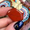 Hand Beaded Medicine Bags with Red Jasper and Perfume Samples
