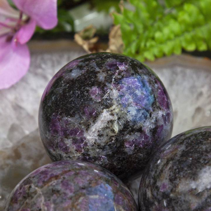 Healed Body and Heart Eudialyte Spheres