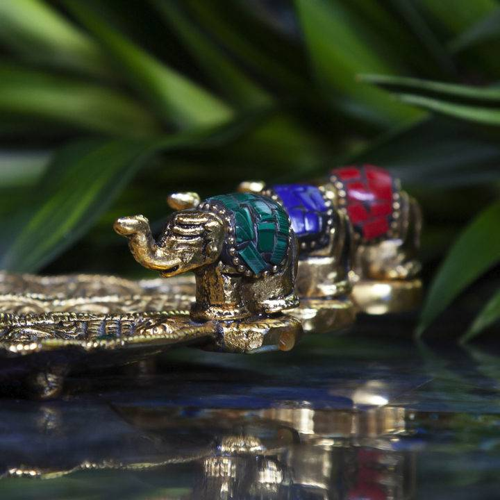 Lucky Elephant Incense Stick Burners