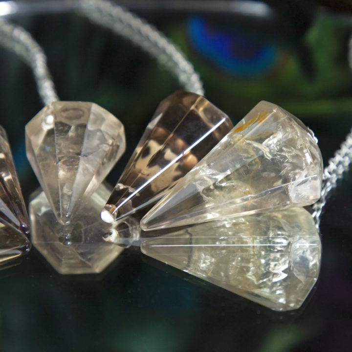 Citrine Empowerment and Prosperity Pendulums