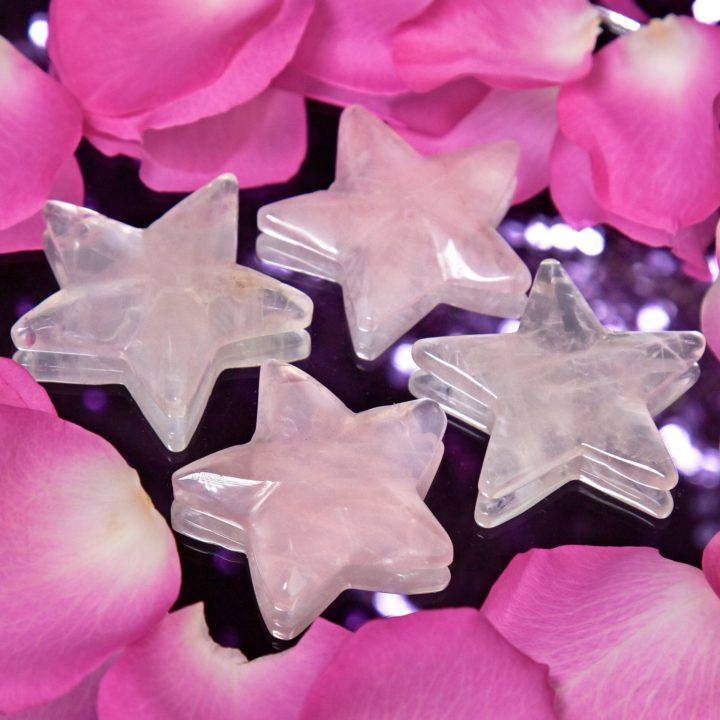 Rose Quartz Abundant Love Stars