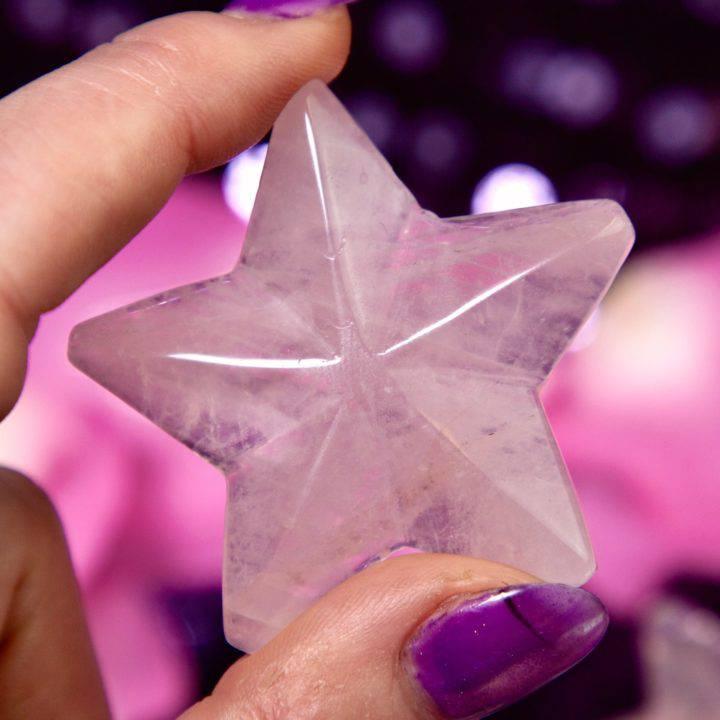 Rose Quartz Abundant Love Stars