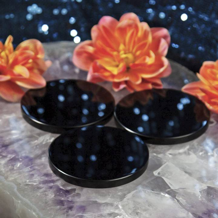 Obsidian Scrying Mirrors