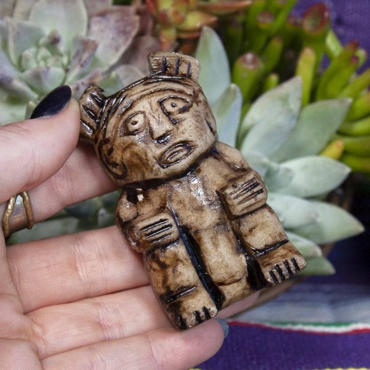 Peruvian Shaman Carvings