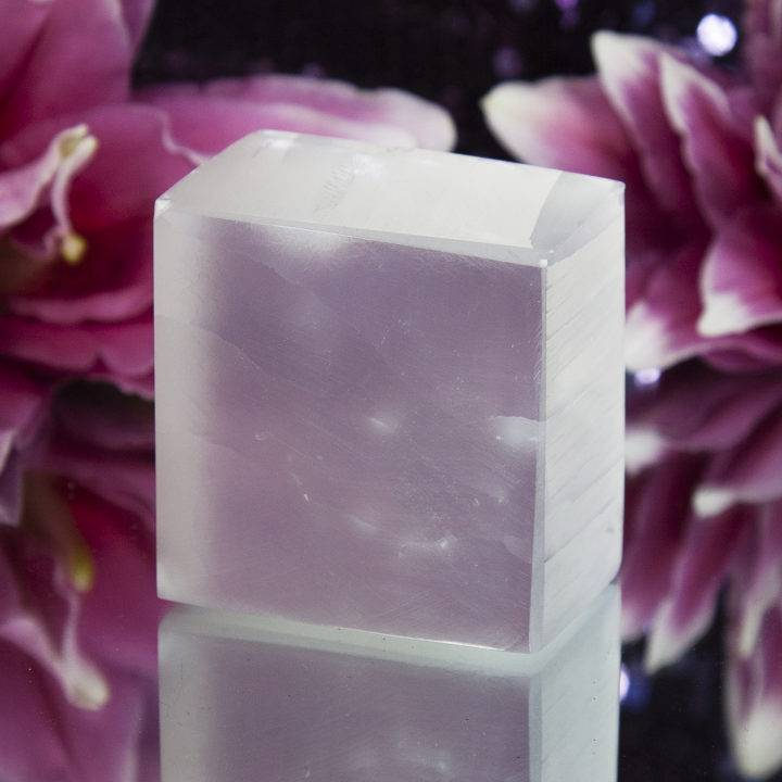 Selenite Divine Feminine Power Cubes