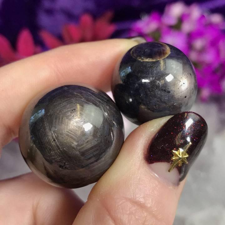 Star Sapphire Spheres
