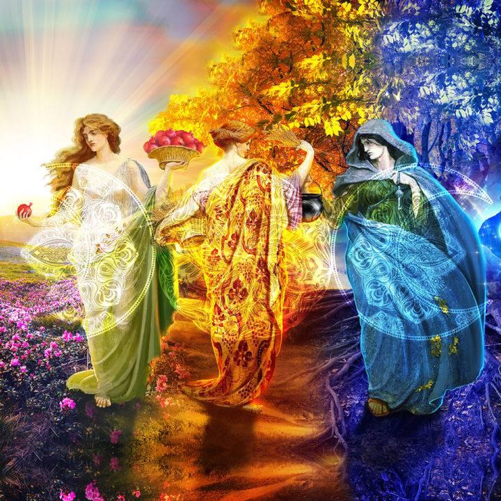 Triple Goddess Second Harvest Mabon Kit