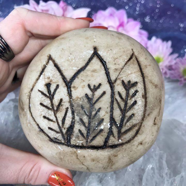13 Moon Peruvian Chumpi Stone