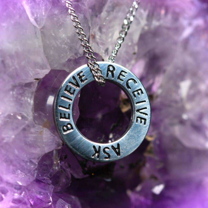 Ask Believe Receive Pendants