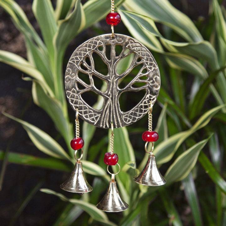 Brass Tree of Life Chimes