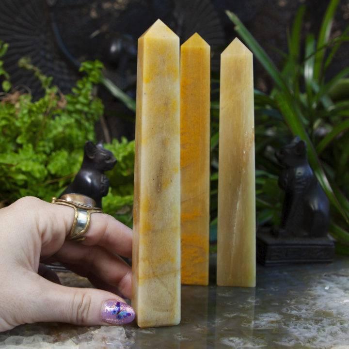 Egyptian Power Pillars