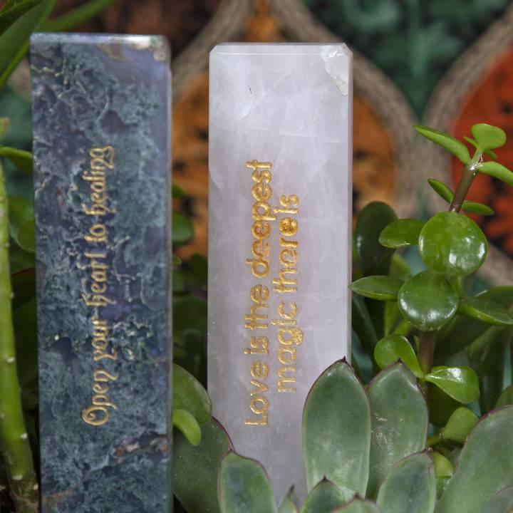 Green Thumb Goddess Crystal Plant Sticks