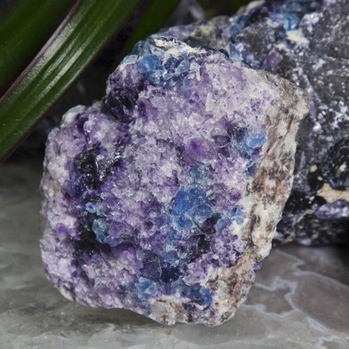 Rare African Upper Chakra Fluorite