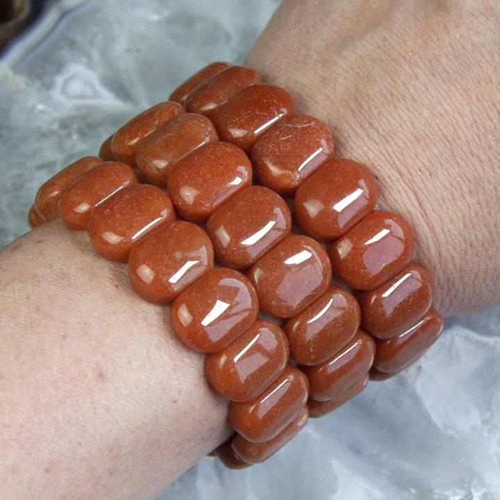 Orange Aventurine Positivity Bracelets
