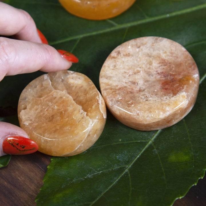 Golden Quartz Gemstone Sphere Stands
