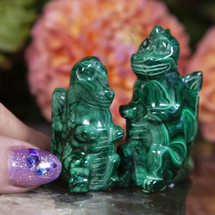 Malachite Dragons