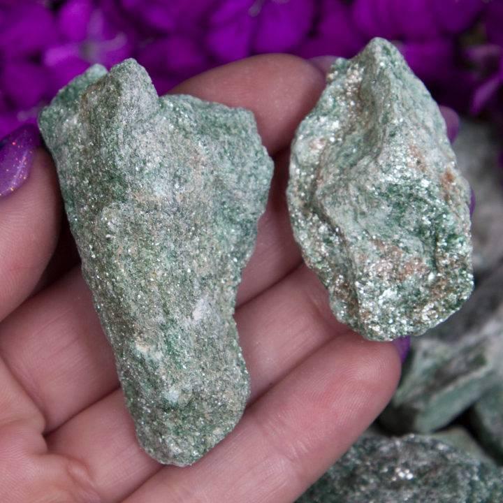 Natural Fuchsite
