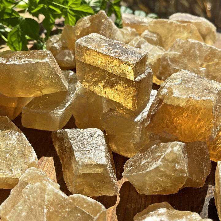 Natural Honey Calcite