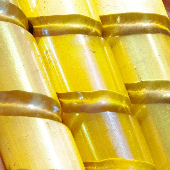 Pure Positivity Yellow Aura Selenite Wands