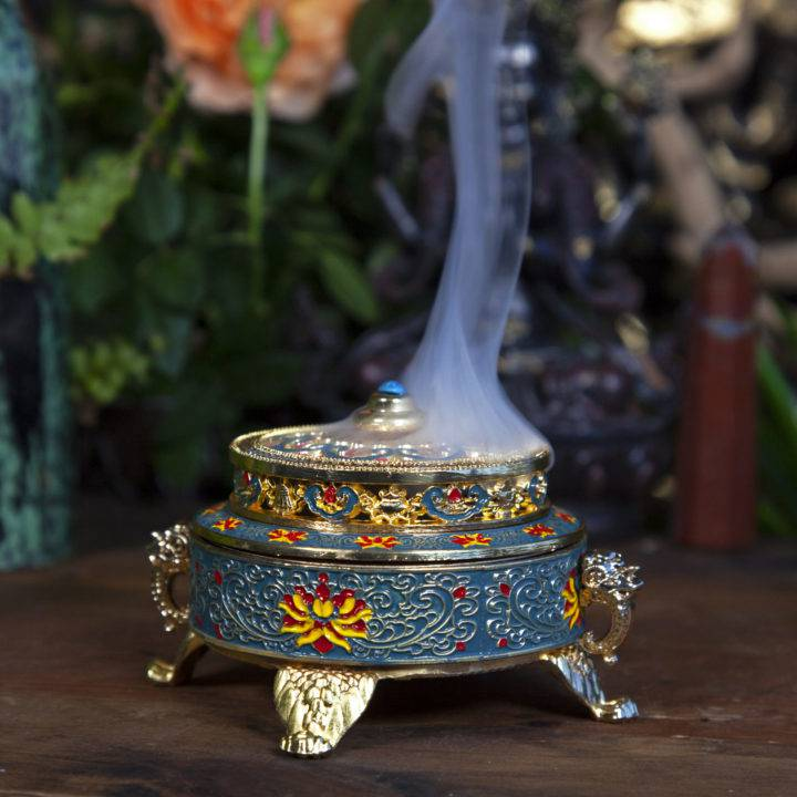 Sacred Symbols Tibetan Incense Burners