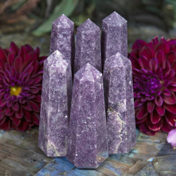 Stress Relief Lepidolite Generators